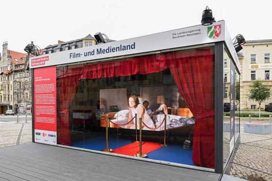 Medien- und Innovationsland: Nordrhein-Westfalen beim Tag der Deutschen Einheit in Halle (S.)