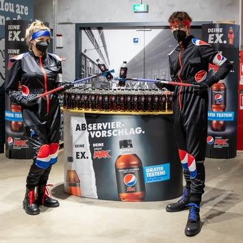Abserviervorschlag 2.0: PepsiCo geht mit Pepsi MAX Kampagne in die zweite Runde
