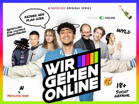 """Online-Glücksspiel / NOVOLINE-Kampagne """"Wir gehen online"""" gestartet"""