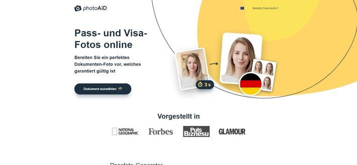 Eine Revolution für das biometrische Passbild!