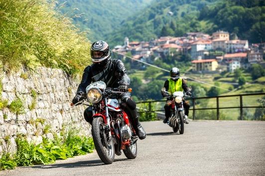ADAC Moto Classic 2021: Entspannte Tour für Zweirad-Klassiker in den Dolomiten