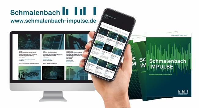 Schmalenbach IMPULSE: Will etwas in Bewegung setzen / Das neue digitale Dialogformat der Schmalenbach-Gesellschaft für Betriebswirtschaft e.V. ist online / schmalenbach-impulse.de