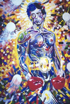 Eye of the artist! / Rocky The Last – Eine Story wie im Film! / Power Painting zum Treatment für Sylvester Stallone!