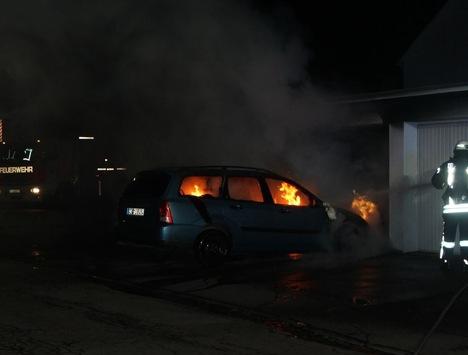 POL-AC: Kripo ermittelt wegen Brandstiftung