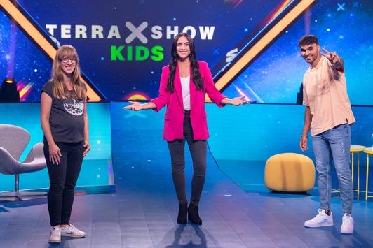 """Die neue """"Terra X-Show Kids"""" bei KiKA und in der ZDFmediathek"""