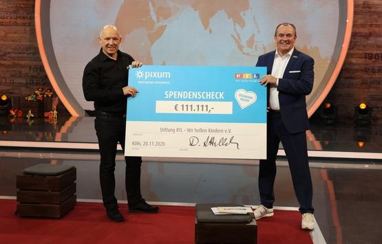 Gutes gemacht: Pixum spendet im Auftrag seiner Kunden 111.111 Euro zur Abmilderung von Corona-Folgen