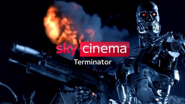 """I'll be back: Zur TV-Premiere von """"Terminator: Dark Fate"""" zeigt Sky Cinema Terminator ab morgen alle Teile der Sci-Fi-Saga"""