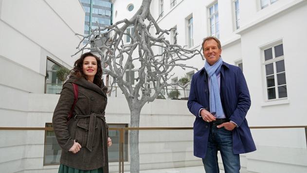 """""""Museums-Check"""" in 3sat mit Marina Weisband im Jüdischen Museum Frankfurt"""