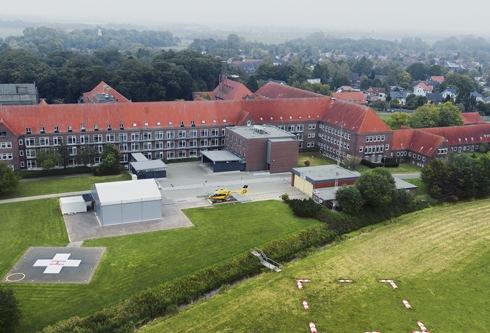 """Neue Luftrettungsstation für """"Christoph 26"""" in Sanderbusch"""