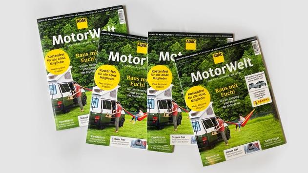 ADAC Motorwelt mit 5,9 Millionen Lesern / Erfolgreiche Neukonzeption des Clubmagazins