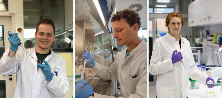 Drei José Carreras-Forschungsstipendiaten / Für eine Verbesserung von Therapieoptionen bei Leukämie