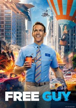 """Ryan Reynolds bricht aus: """"Free Guy"""" schon nächste Woche bei Sky und Sky Ticket"""