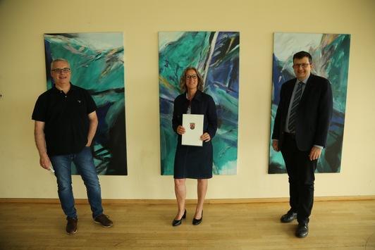Dr. Michaela Schlich von der Universität in Koblenz zur außerplanmäßigen Professorin ernannt