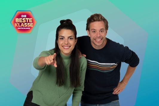 """""""Die beste Klasse Deutschlands"""": Drehstart in Erfurt mit neuem Moderations-Duo Clarissa Corrêa da Silva und Tobias Krell"""