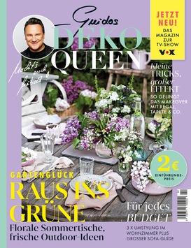 """In der neuen Ausgabe GUIDOS DEKO QUEEN: Jasmin Wagner in exklusiver Foto- und Homestory: """"Es ist schön, wenn sich Gäste wohlfühlen, aber vor allem ist es mein Zuhause"""""""