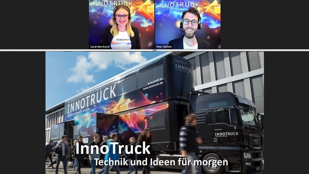 Ostbayerische MINT-Tage 2021: InnoTruck kommt virtuell (02.-03.07.)