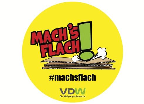 """Recycling lebt vom Mitmachen / Mit """"Mach's flach!"""" auch beim Weihnachtsshopping das Recycling unterstützen"""