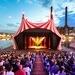 Internationale Companies des Cirque Nouveau sind beim Sommerfest der Autostadt in Wolfsburg auf der Hafenbühne zu Gast. ...