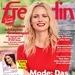 Freundin Cover Jubiläumsausgabe 21/2018. Sieben Jahrzehnte Themen, die das Leben glücklicher machen. Weiterer Text über ots ...