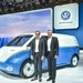 Dr. Thomas Sedran, Chairman of the Board of Management Volkswagen Commercial Vehicles, and Heinz-Jürgen Löw, Member of the ...