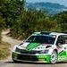 Nach einer ganz starken Leistung liegen Fabian Kreim und Frank Christian (D/D) nach dem zweiten Tag der Rally di Roma Capitale ...