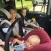 Auf einen dreier Rücksitz passen oft nur zwei Kindersitze Weiterer Text über ots und www.presseportal.ch/de/nr/100000091 / ...