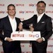 René Rummel-Mergeryan (Director Business Development von Netflix), Marcello Maggioni (Chief Commercial Officer von Sky ...